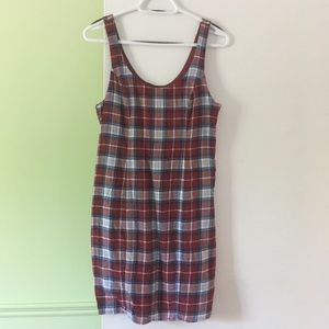 Abercrombie & Fitch checkered dress